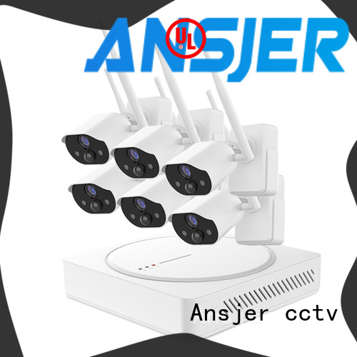 Ansjer cctv high quality smart home security supplier for surveillance