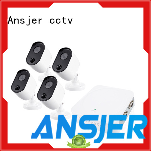 system 1080p security system cameras for office Ansjer cctv