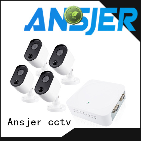 Ansjer cctv durable best 1080p security camera system manufacturer for indoors or outdoors