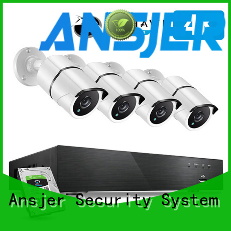 Ansjer cctv ultra 4k security camera system manufacturer for surveillance