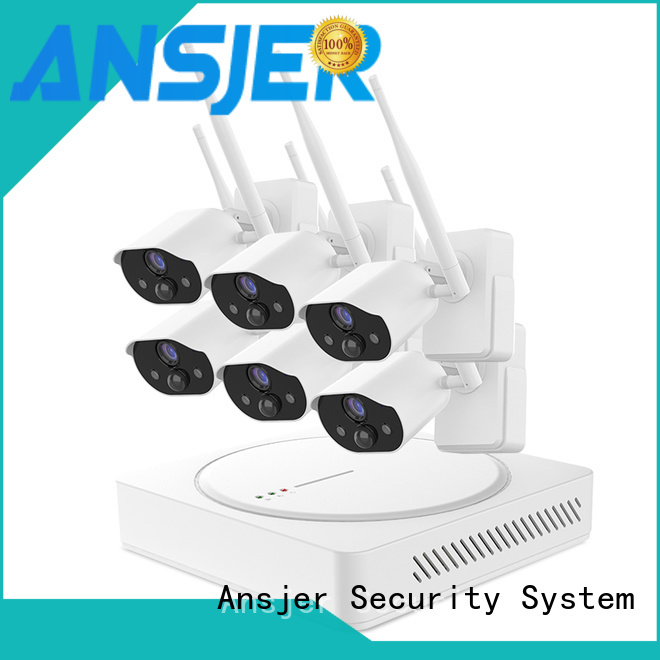 Ansjer cctv wire-free smart home security series for surveillance