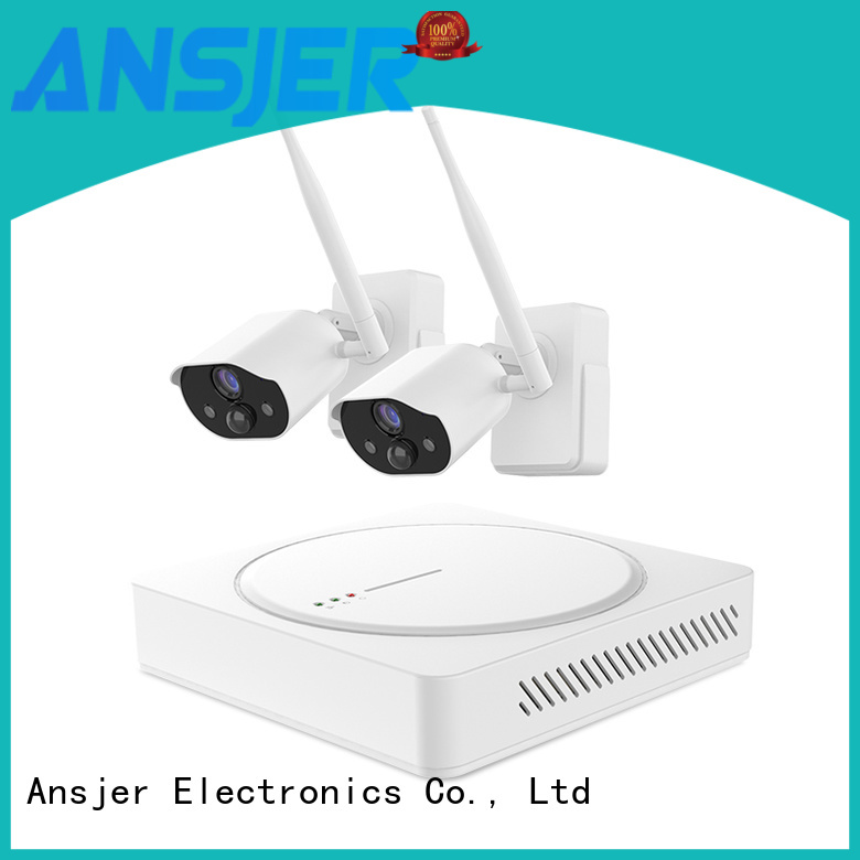 Ansjer cctv camera smart home security system wholesale for surveillance