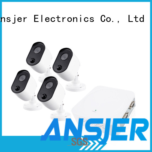 Ansjer cctv camera 1080p security camera system wholesale for surveillance