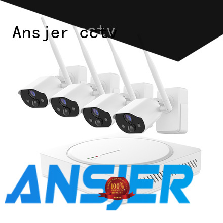 Ansjer cctv free smart home security system supplier for home