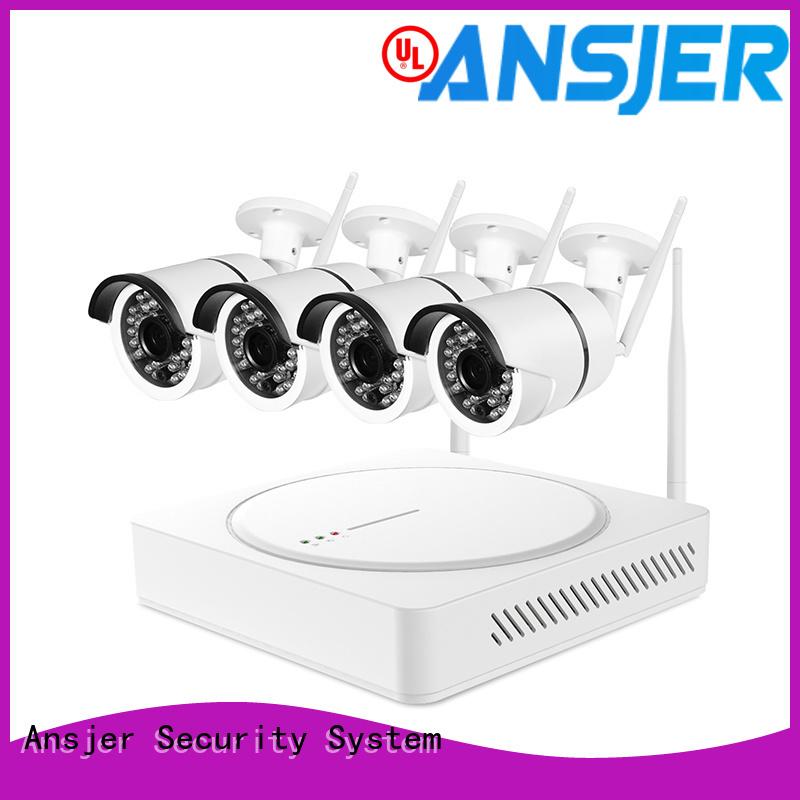 Ansjer cctv system wireless cctv camera system wholesale for surveillance
