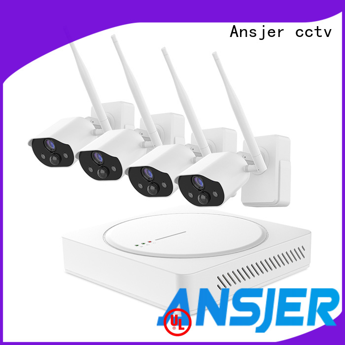 Ansjer cctv security smart home surveillance manufacturer for home