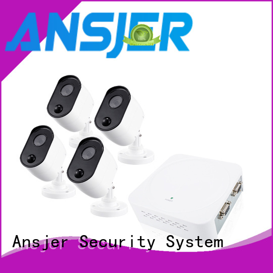 Ansjer cctv durable 1080p security system wholesale for surveillance