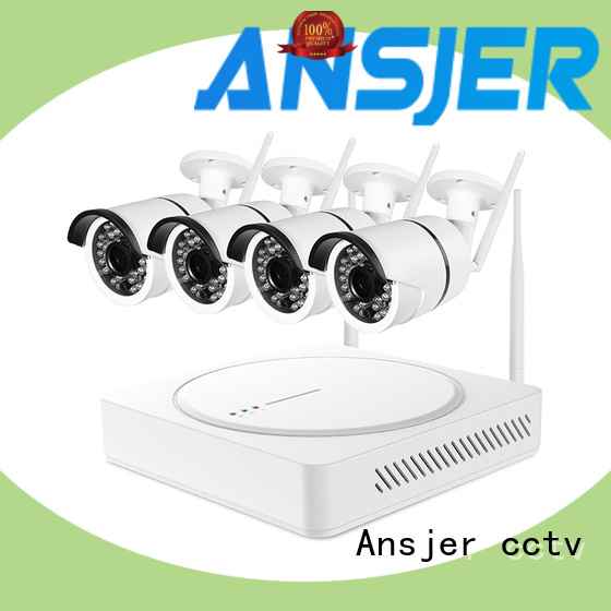 Ansjer cctv outdoor wireless security camera system supplier for indoors or outdoors