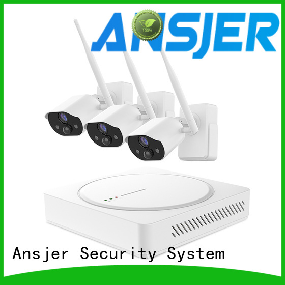Ansjer cctv smart home monitoring system supplier for surveillance