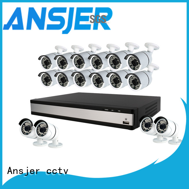 durable 1080p security camera system dvr series for office