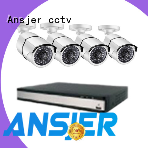 Ansjer cctv electric 2k ip camera system supplier for home