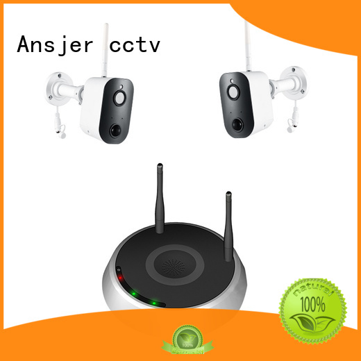 Ansjer cctv motion activated security camera sensing for office