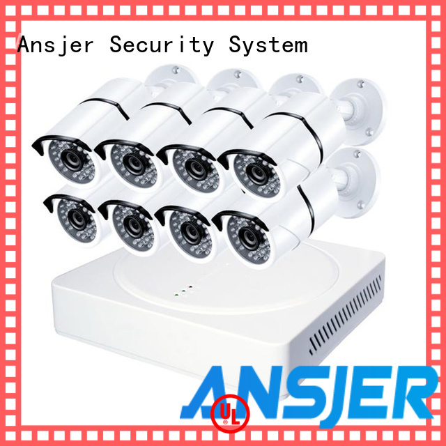 Ansjer cctv alert 2k ip security camera system supplier for indoors or outdoors