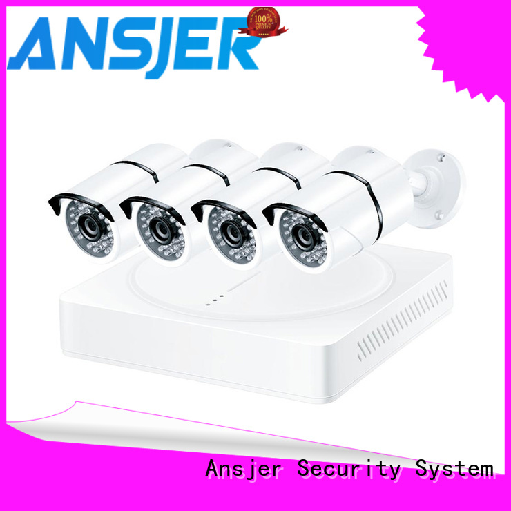 Ansjer cctv channel 2k ip camera system supplier for surveillance