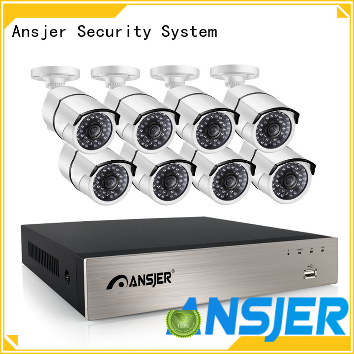 Ansjer cctv video ip camera 5mp poe supplier for surveillance