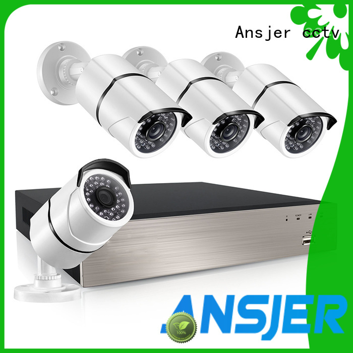 Ansjer cctv home poe cctv 1080p wholesale for home