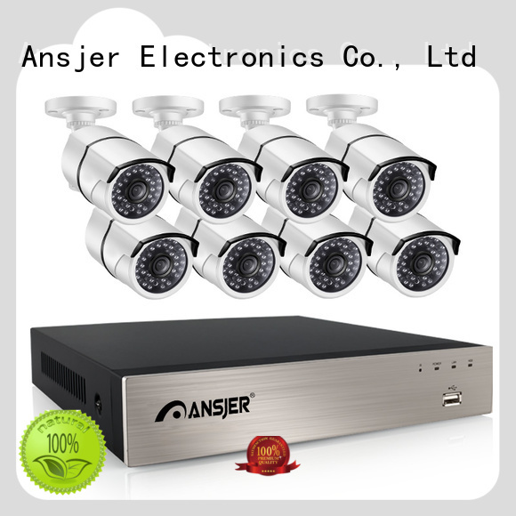 Ansjer cctv nvr 4ch poe channel for surveillance