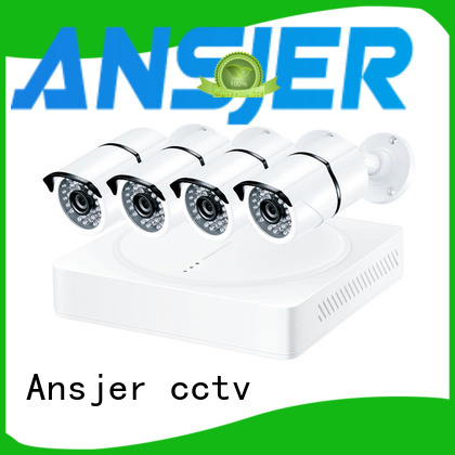 Ansjer cctv vision 4k security system series for surveillance