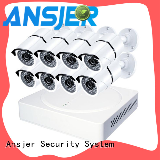 Ansjer cctv camera 1080p outdoor security camera system supplier for surveillance