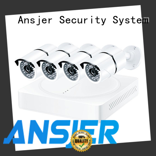 Ansjer cctv recorder 4k video surveillance system wholesale for office