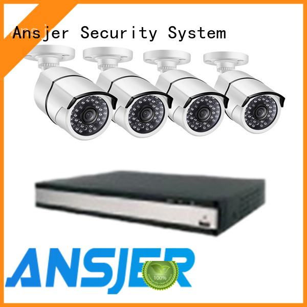 Ansjer cctv viewing 2k security camera system wholesale for office
