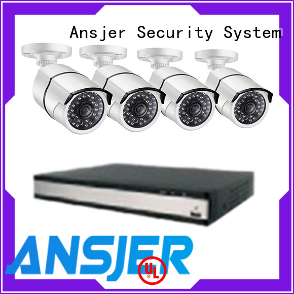Ansjer cctv video security camera system 5mp series for office