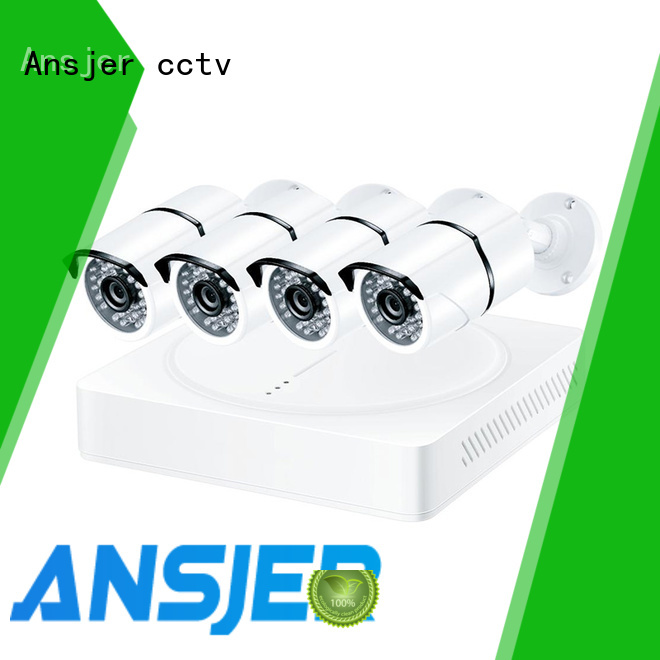 Ansjer cctv motion 8mp security camera system manufacturer for surveillance