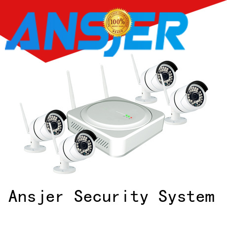 Ansjer cctv night wireless surveillance system series for home