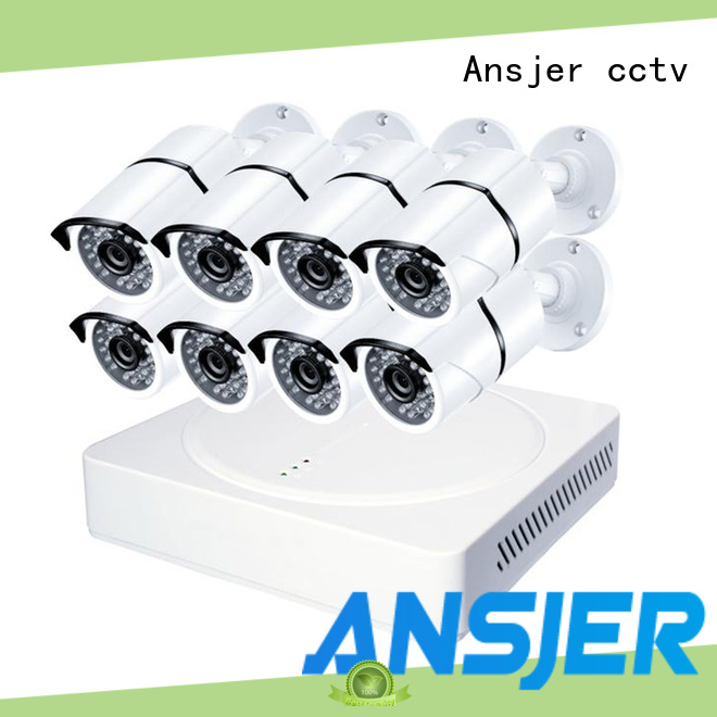 Ansjer cctv 4k surveillance system wholesale for surveillance