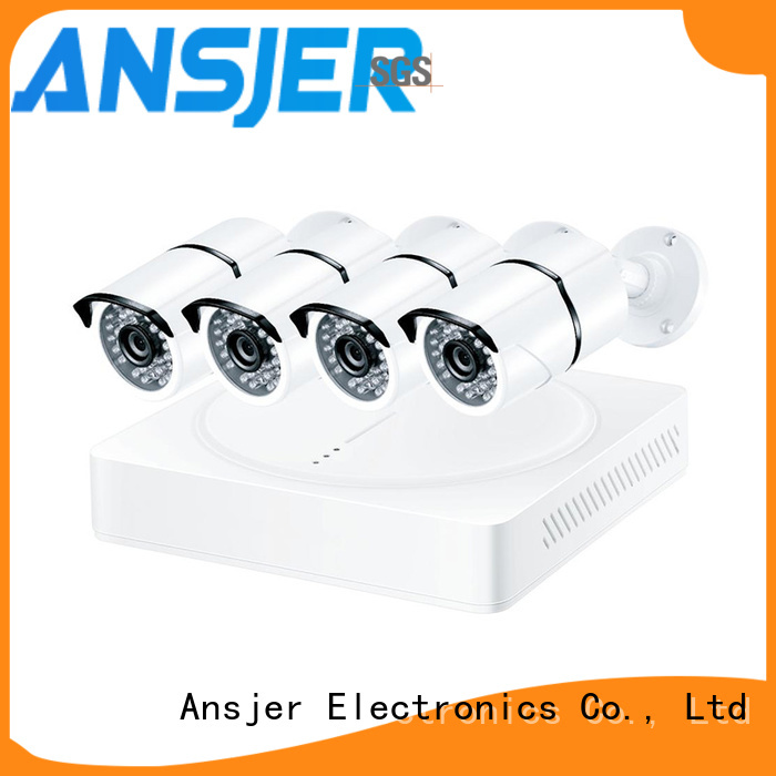 Ansjer cctv channel 4k security system series for office