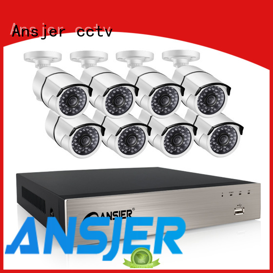 Ansjer cctv security 5mp poe ip camera supplier for home