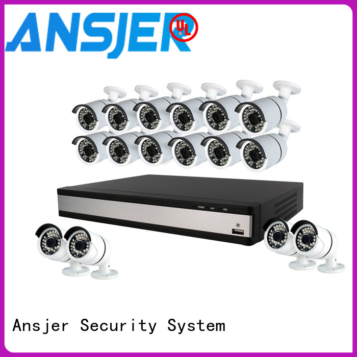 Ansjer cctv electric 1080p cctv camera system wholesale for indoors or outdoors