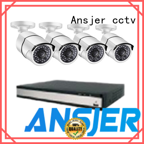 Ansjer cctv durable poe cctv 1080p manufacturer for office