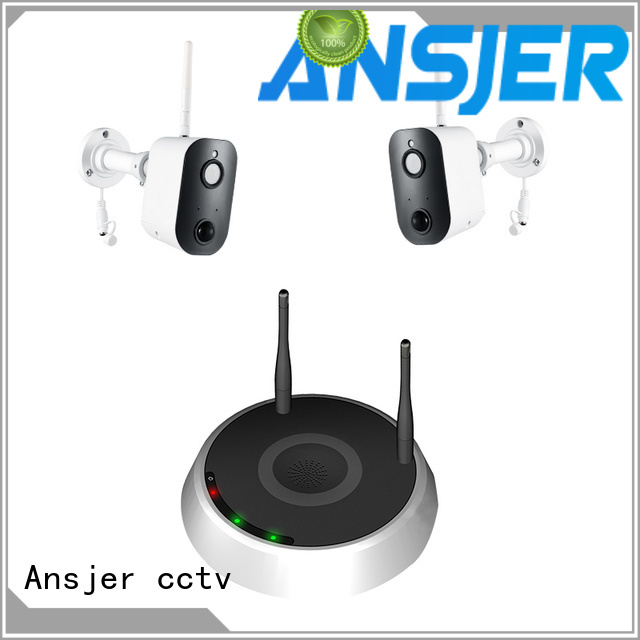 Ansjer cctv security smart home monitoring system manufacturer for indoors or outdoors
