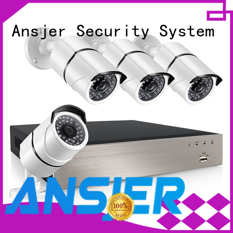 4 channel nvr email for office Ansjer cctv