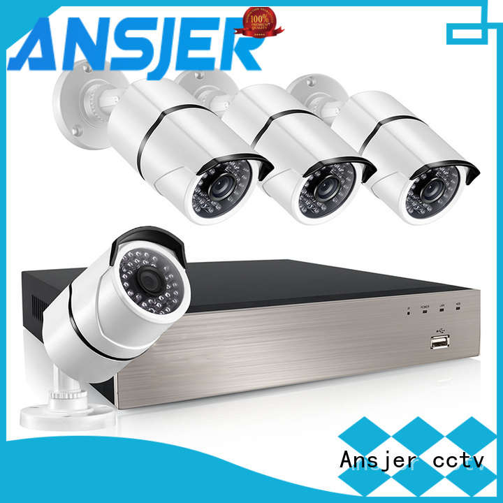 Ansjer cctv ip camera 5mp poe manufacturer for home