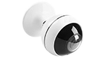 Ansjer-30mp Wireless Ip Camera Wifi Indoor Vr Camera 360 Degree Panoramic For Baby Pet Monitor-3