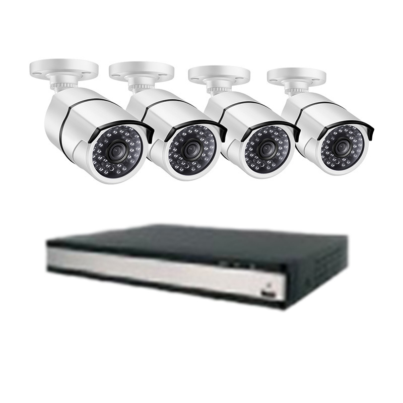 Ansjer 2K HD H.265 Home Security Camera System, 16 Channel Video Recorder with 16 HD 5.0MP Outdoor/Indoor Surveillance Cameras IP66, 100FT Night Vision, Internet & Smartphone Viewing, Motion Email Alert