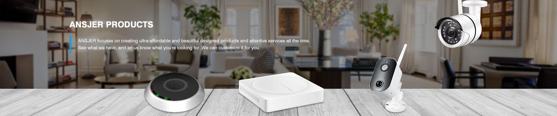 home surveillance cameras-Ansjer cctv