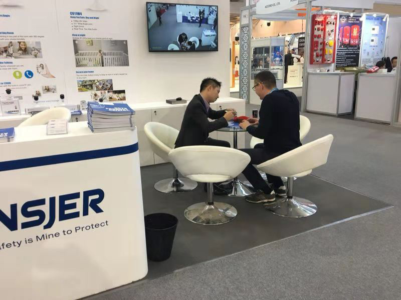 Ansjer-Read German Exhibition News On Ansjer Security Camera