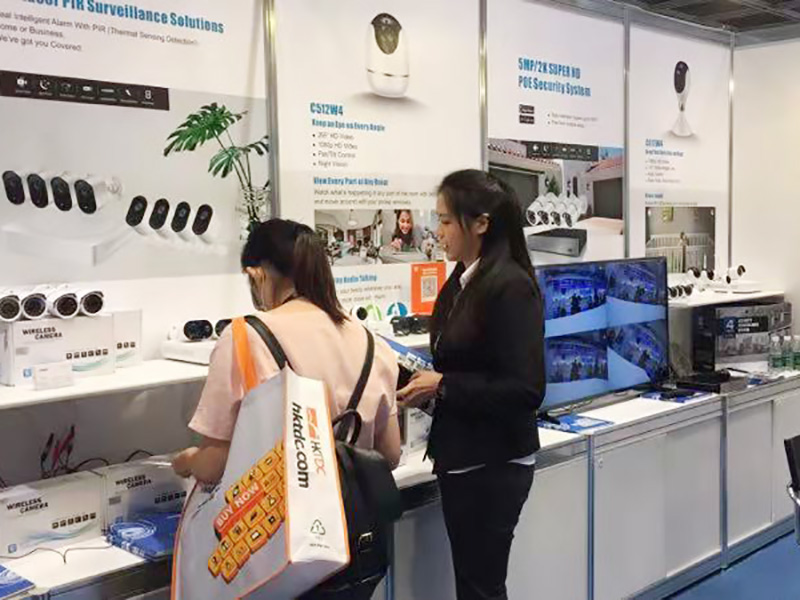 Ansjer-Hong Kong Exhibition | Cctv Kits | Video Surveillance System-2