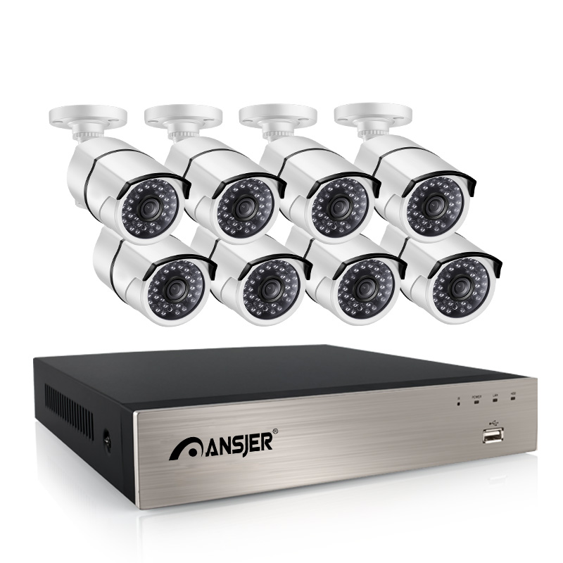 Ansjer cctv alert 5mp nvr wholesale for indoors or outdoors-1