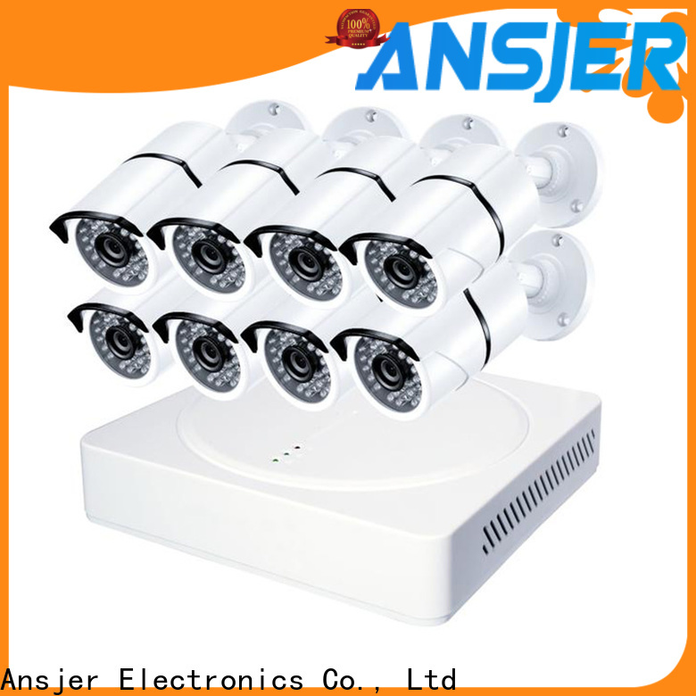 Ansjer cctv security security camera system 5mp supplier for office