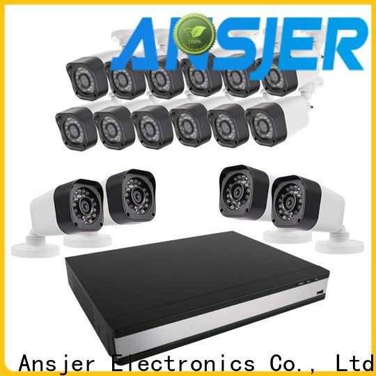 Ansjer cctv vision 720p camera system supplier for indoors or outdoors