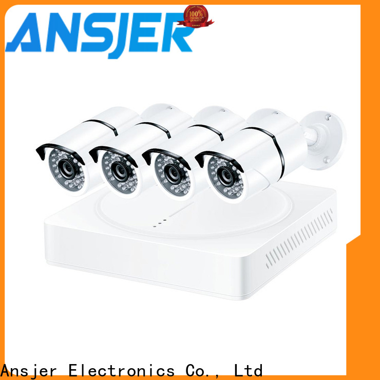 Ansjer cctv high quality 1080p surveillance system series for office