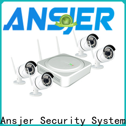 Ansjer cctv channel 2k wireless security camera supplier for office