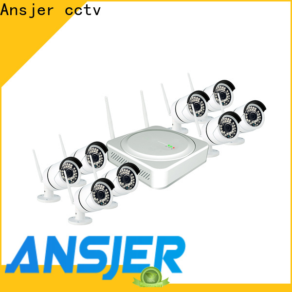 Ansjer cctv security 1080p hd wireless security camera system manufacturer for home