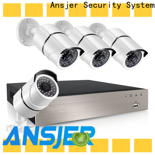 Ansjer cctv recorder 1080p poe wholesale for indoors or outdoors