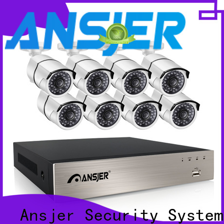Ansjer cctv outdoor 1080p nvr manufacturer for office