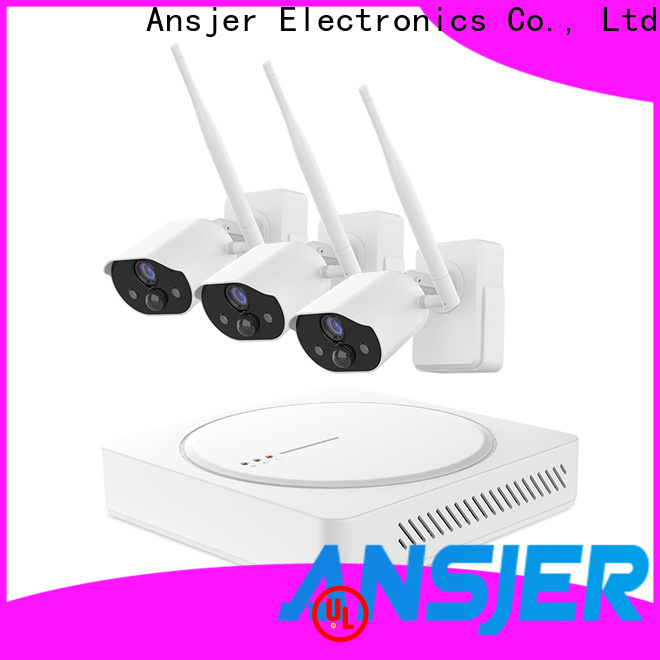 Ansjer cctv security best smart home security system series for office